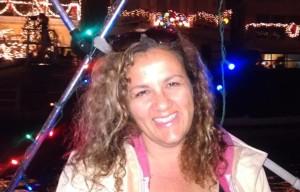 Leyla on boat